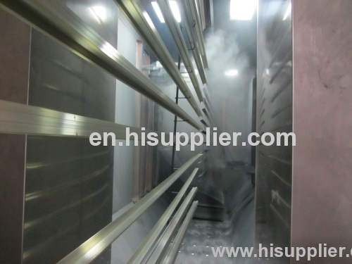 High quality Aluminium Profile powder coating line