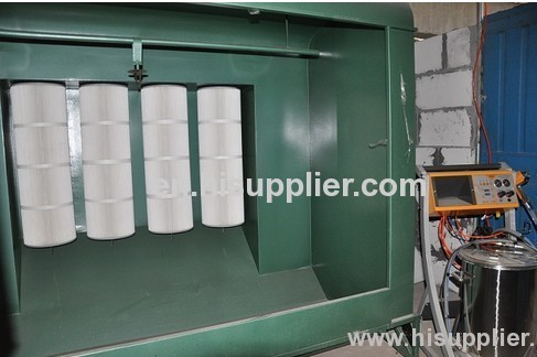 Ce iso 9001 certificate powder coating spray booth design for Powder coating paint booth