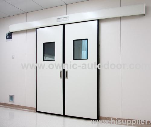 Double open sliding door or doorssteel autodoor from china