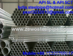 BS1387 88.9MM GALVANIZED STEEL PIPE