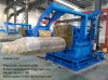 auto steel strip coiling machine