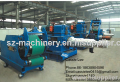 aluminum sheet coiling machine