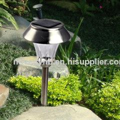 Bright solar garden light