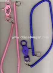 Casino Slot Card Retainer/elastic cord lanyard/claw lobster lanyard
