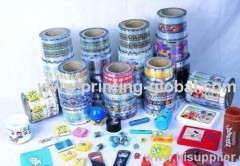 Plastic Wooden Glass Metal Product Heat Transfer Printing Stickers Hot Sale