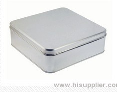 tinplate manufacturer tin box/tinplate box