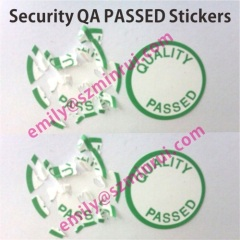 dia 20mm qa passed eggshell stickers