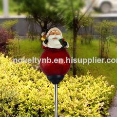 christmas solar garden lawn light