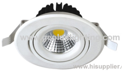8W downlight with EPISTAR chips