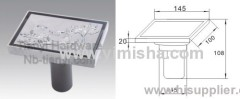 YIMISHA Brass High Siphon Floor Drain