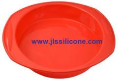 big round silicone bakeware moulds