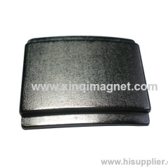 Segment NdFeB magnet with two slot