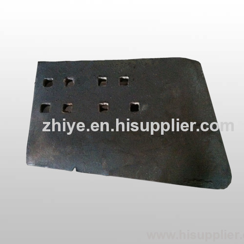 very heavey side plate excavator accessory carbon steel