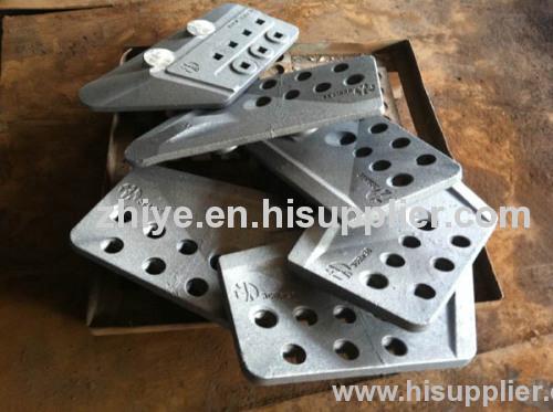 very heavey side plate excavator accessory carbon steel