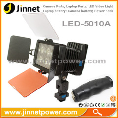 Professional led video light kit Led-5010A for camera DV camcorder