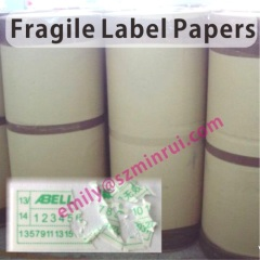 Eggshell Sticker Label Materials