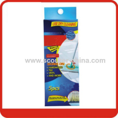 Non-woven floor cleaning wiper with Foldable Handle