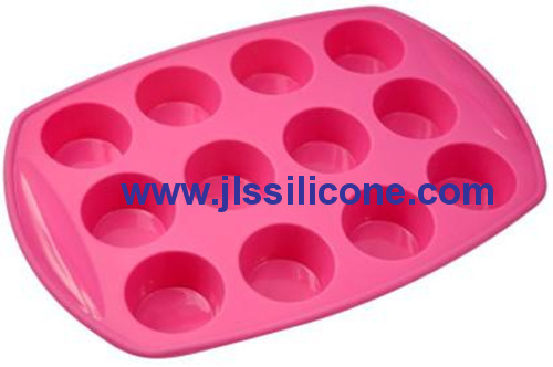 12 cavity candy baking pan silicone bakeware moulds