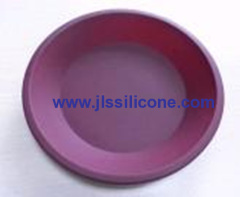 9 inch round royal purple silicone bakeware moulds