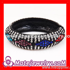 pave crystal bangle bracelets