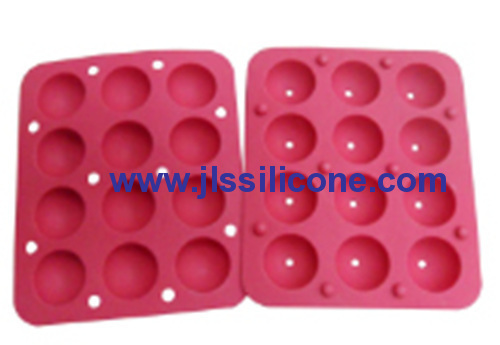 12 cavity semesphere candy silicone bakeware moulds