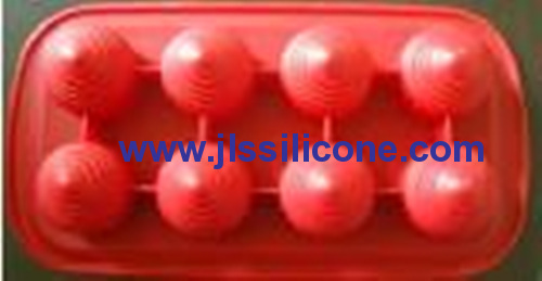 8 cavity bullet silicone bakeware moulds