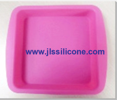square bread loaf or lasagna silicone bakeware moulds