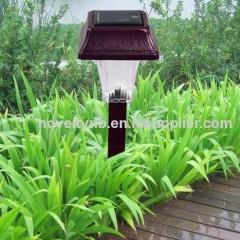 solar lawn stake light