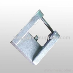 shape rectangle ductile iron casting