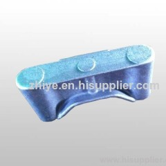 ductile iron casting shape rectangle
