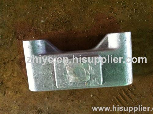 shape rectangle ductile iron casting