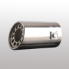 Univesal stainless steel automobile exhaust muffler pipe
