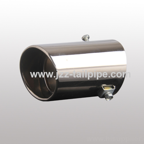 Asia hot sell universal stainless steel car tail pipe cover