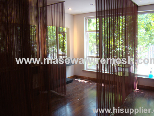 decorative wire mesh as divider