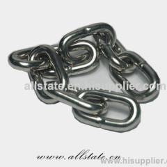 Marine stud link anchor chain