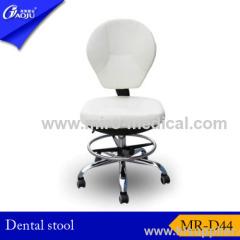 Luxurious metal dentist stool