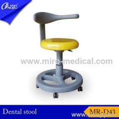 Metal round base Dental Stool