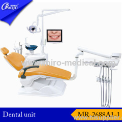 Mounted dental unit for clinic
