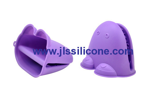 purple frog silicone oven glove mitt and pot holders