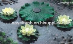 garden water lily light