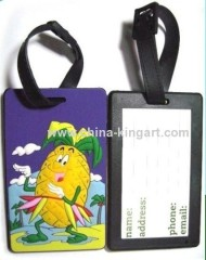 custom logo soft pvc tag