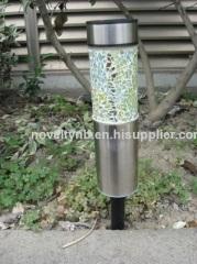 Mosaic garden solar Light