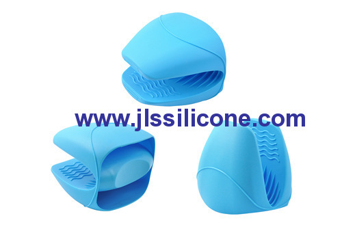 anti-slip and heat resistant silicone glove mitt and pot holder