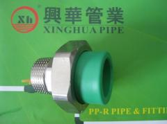 PPRC Male Adaptor Union fittings and tube plumbing material