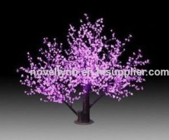 solar garden light tree