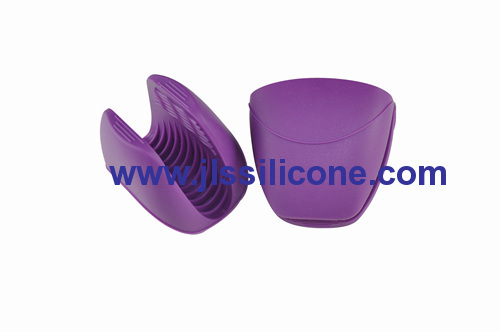 durable and easy wash silicone pot holders or oven glove mitt