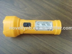 LED Fashion flashlight plastic