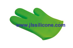 silicone oven mitts glove pot holder and finger protectors