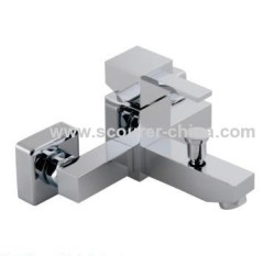 Bath Shower Mixer Wall Mounted Exposed Bath Shower Faucet