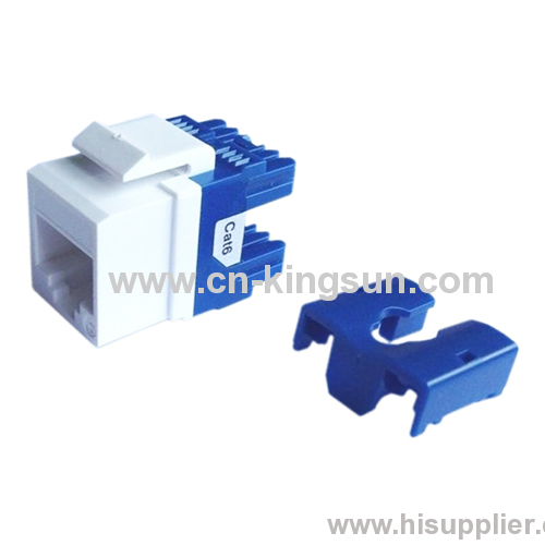 Leviton type cat. 6 180 degree RJ45 Keystone Jack